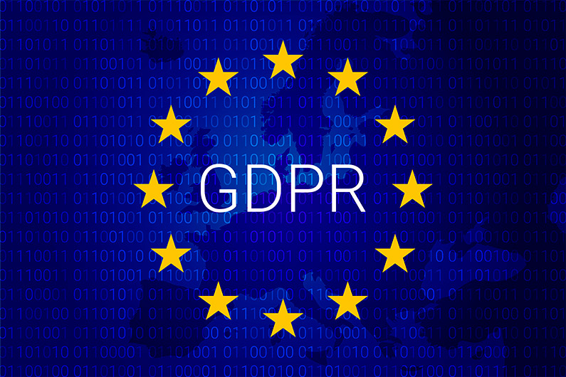 GDPR is going into effect on May 25, 2018.